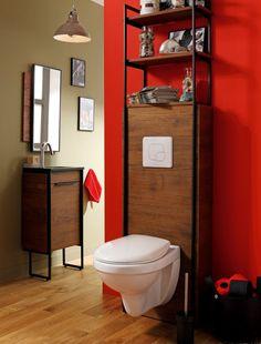 10 Couleurs pour la déco des toilettes | Bricolage, Toilet and ...