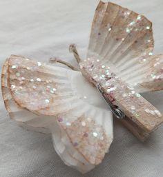 MENTŐÖTLET - kreáció, újrahasznosítás: Pillangók muffin papírból