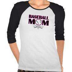 Baseball Mom t-shirt