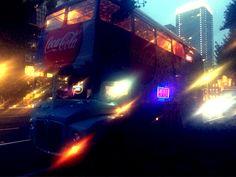 旅行SNSに初参加! ロンドンバスで東京夜景ツアーいてくるー
