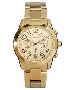Image 1 ofMichael Kors MK5726 Gold Chronograph Watch