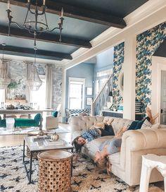 Dream Home Design, My Dream Home, Home Interior Design, House Design, Home Living Room, Living Room Decor, Shabby, House Rooms, Room Inspiration