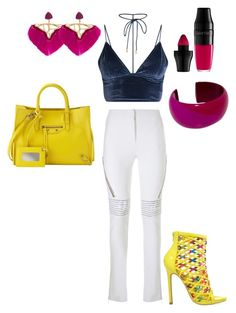 """Fun Times"" by jazzybell27 on Polyvore featuring Genny, Balenciaga, Privileged, Hermès, Katerina Makriyianni, Lancôme and stylin"