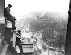 Viewed from St Pancras clock. Kings Cross junction, 1931