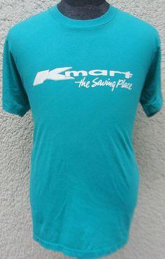 Vintage 80's K mart The Saving Place t shirt XL by retropopmanila, $29.99