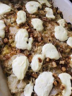 Sherpa Konyhája: Savanyú káposztás-szalonnás-tejfölös tészta