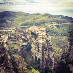 """Големите манастири """"Метеори"""" – Грција"""