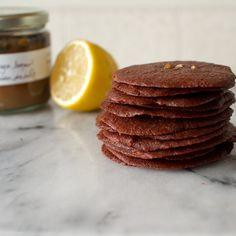 FMITK x @PIGMENT:  Ginger Brownie Thins with Preserved Lemon - featuring @TazaChocolate and @Amy Deaver