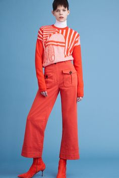 """Iceberg Pre-Fall 2016 collection. Macuga, Iceberg Pre-Fall 2016 muse: """"In person she's quite a quirky character, boasting an odd fashion sense—think: a '70s Eastern bloc, bordering-on-the-derelict kind of aesthetic, with a dash of luxe vintage thrown in for good measure."""""""