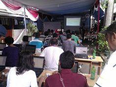 Pelatihan Design grafis di kampung Ambon, Bekerja sama dengan BNN