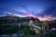 Toledo en Technicolor by César Vega on 500px