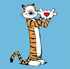 calvin and hobbes heart - Love, love, love Calvin & Hobbes!