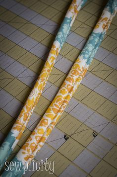 TUTORIAL: Corded Fabric Handles - Sewplicity