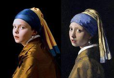 Schilderijen als inspiratiebron voor fotografie