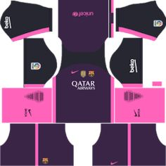 You can get the Barcelona Kits Dream League Soccer with urls. The Barcelona DLS Kits are very amazing and easy to use. You can also get the other kits of the barcelona. Barcelona Third Kit, Barcelona Football Kit, Barcelona 2016, Soccer Kits, Football Kits, Goalkeeper, Dream Team, The League, Goaltender