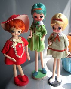 pose dolls by Gina678 on Flickr