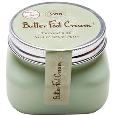 Butter Foot Cream ($21) ❤ liked on Polyvore featuring beauty products, bath & body products and body moisturizers