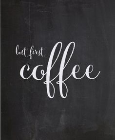 But first, coffee! Happy National Coffee Day!