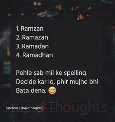 Konsa sahi h🤔🤔? I think or Best Quotes, Funny Quotes, Funny Memes, Urdu Quotes, Wale Quotes, Islamic Library, Desi Humor, School Jokes, Sweet Words