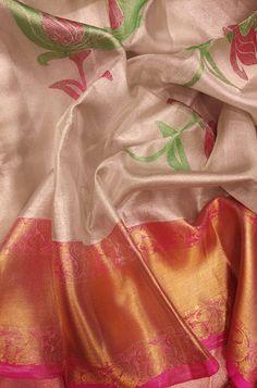 Buy Off White Handloom Kanjeevaram Pure Silk Saree Kanjivaram Sarees Silk, Kota Silk Saree, Wedding Silk Saree, Kanchipuram Saree, Pure Silk Sarees, Banarsi Saree, Cotton Saree Designs, Saree Blouse Neck Designs, Off White Saree
