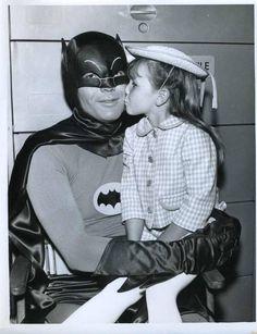Batman and friend.