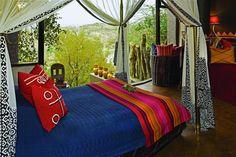 Children's bedroom at Singita Pamushana Lodge