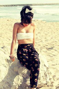 retro beach ahhhh looooove