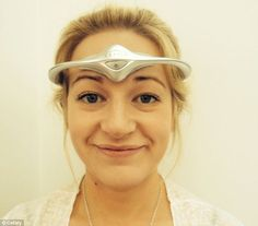 Migraine sufferer banishes crippling headaches using hi-tech headband which emits electrical pulses to the brain.    YES PLEASE