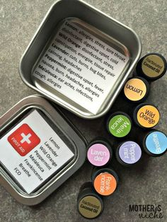 Mini First Aid Kit with Essential Oils