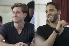 graceland tv show images   Graceland Interview: Daniel Sunjata and Aaron Tveit on Mike and Briggs ...