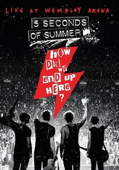How Did We End Up Here Live at Wembley  Blu-Ray  Free Shipping