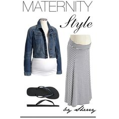"""""""Similar Maternity Style"""" by thelifeoftheparty on Polyvore"""