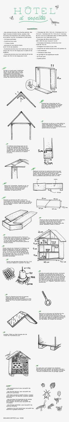 DIY : Fabriquer un hôtel à insectes
