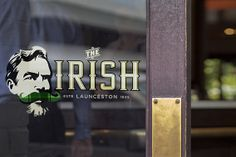 The Irish, Launceston. Davidson was lucky enough to get the opportunity to rebrand this old charmer. This involved developing the brand strategy, naming and a striking logo which was rolled-out across the pub's signage and various bar collateral.