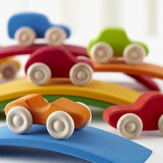 The Land of Nod | Kids Toys: Rainbow Roadsters in Transportation