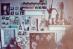 tasteful clutter