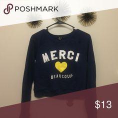 Top Crop top sweater Forever 21 Tops Sweatshirts & Hoodies
