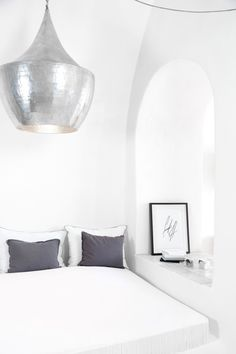 The perfect minimalist bedroom.