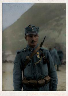 Korporal Ludwig LIPPOTH vom. k.k. LIR. Nro. 4, VIII. Zug. – 1915