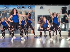 Let it snow - Jessica Simpson - Christmas Dance Easy Fitness Choreography Zumba - YouTube