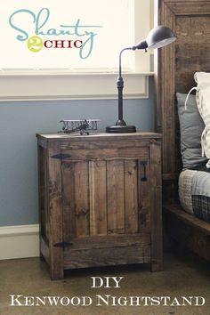DIY nigh stands I think they look awesome it might be something to try one day in the near future!