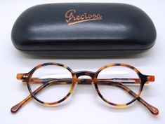 Frame Holland 764 Hand Made Preciosa Tortoiseshell Effect Round Acrylic Glasses - The Old Glasses Shop Spectacles Mens, Eyeglasses For Women, Glasses Shop, Mens Glasses, Small Round Glasses, Vintage Glasses Frames, Vision Glasses, Sunglass Frames, Tortoise Shell