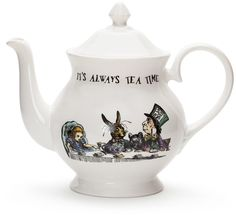 I agree Mr. Mad Hatter it IS always tea time this pots not quite my style but I do love Alice in wonderland it was my favorite growing up! Sstyleaffiliate