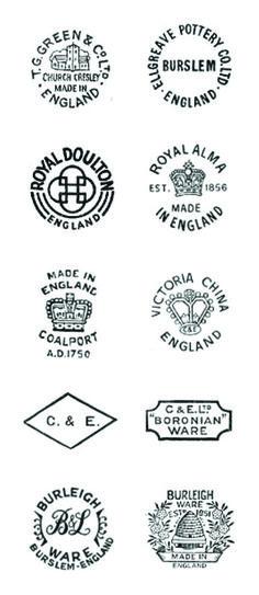 vintage ceramic back stamps 3