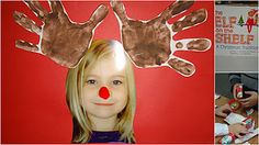 Cute student picture reindeer