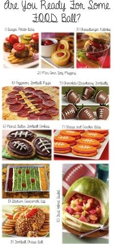 Superbowl / Gameday / Football food creations