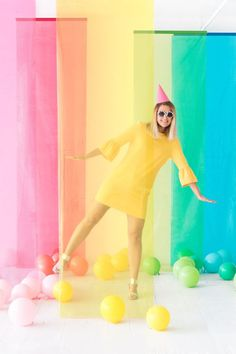 Colorblock Film Photobooth | Oh Happy Day!