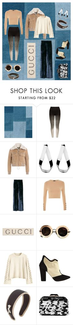 """""""Wish List and Last Minute Gifts #wishlist #lastminutegifts"""" by cigoehring ❤ liked on Polyvore featuring Pepper & Mayne, Off-White, Jennifer Fisher, Forte Forte, Topshop, Gucci, Nicholas Kirkwood, Miu Miu, Jimmy Choo and Vita Fede"""