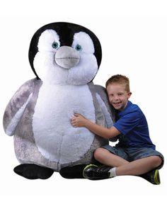 A GIANT Petting Zoo Plush Jumbo Penguin