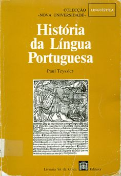 Es un breve librito que de forma sencilla, rápida y amena ofrece una panorámica de la historia de la lengua portuguesa. Se publicó originalmente en francés, pero es más sencillo localizarlo en portugués. Como es usual, lo tenemos en la biblioteca: http://almena.uva.es/record=b1142991~S1*spi. No suelo mencionar sitios donde se puede obtener, pero en http://es.scribd.com/doc/22899347/paul-teyssier-historia-da-lingua-portuguesa hay una digitalización del libro.